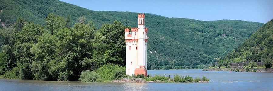 Der Mäuseturm - Das Binger Wahrzeichen am Rhein